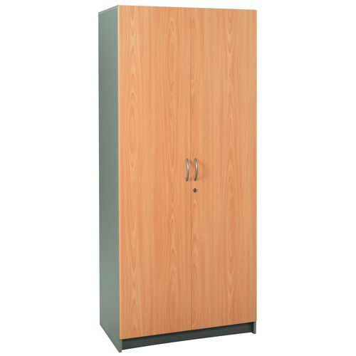 Armoire à portes battantes Basik - Haute