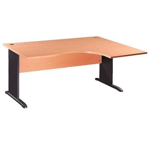 bureau compact office ii pi tement en l. Black Bedroom Furniture Sets. Home Design Ideas