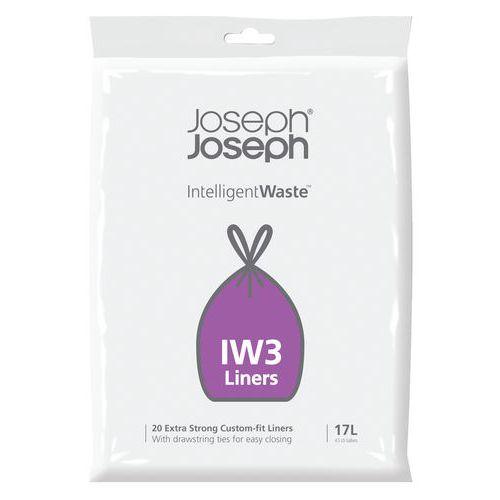 Sac poubelles pour Intelligent Waste IW3 17L_Vepabins