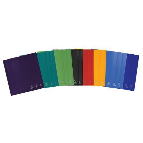 Protège-documents polypropylène opaque souple 40 vues - Coloris assortis - Lot de 20