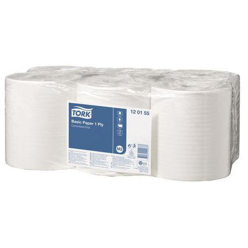Bobine d'essuyage Tork  Universal - Blanc - 300 m x 20 cm