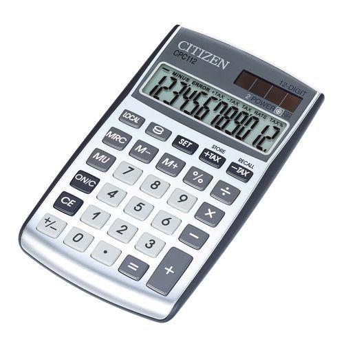 Calculatrice de poche - Citizen - CPC 112WB