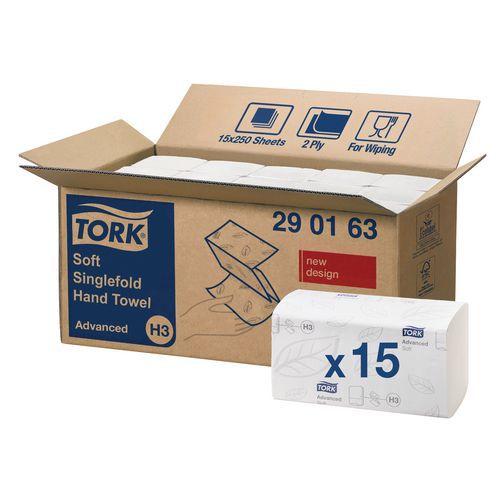 Essuie-mains Tork Advanced H3 - Enchevêtré