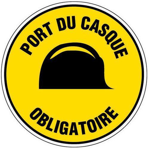 Panneau De Signalisation De Chantier Port Du Casque