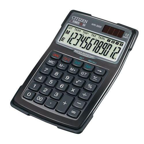 Calculatrice de poche étanche - Citizen - WR-3000
