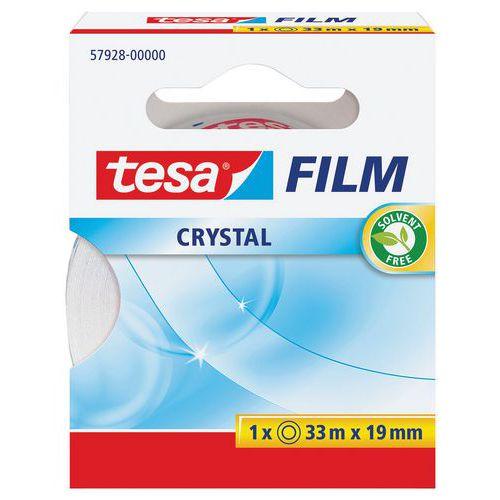 Ruban adhésif TESA Crystal 33 m x 19 mm