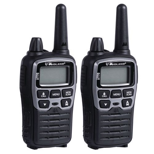 Talkie walkie - Midland - XT-70 - argent