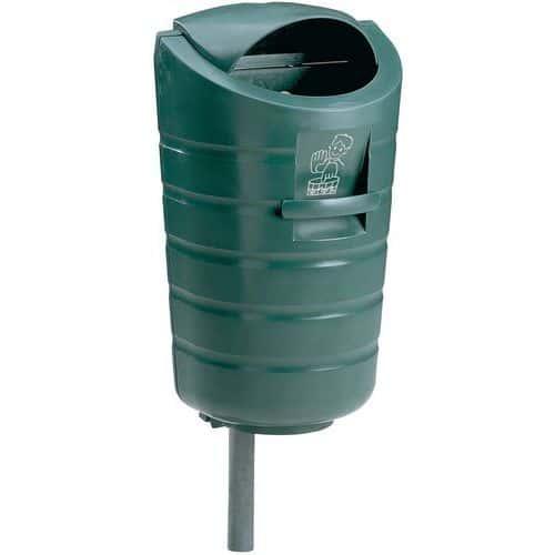 Poteau de fixation pour poubelle plastic omnium for Plastic omnium auto exterieur services