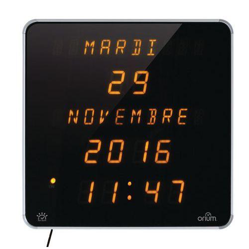 Horloge Ephéméris jaune DST Orium