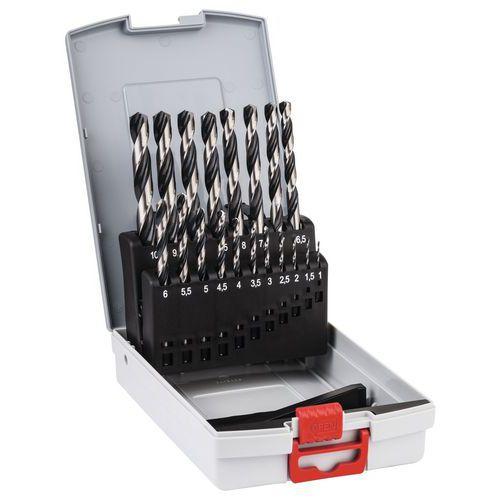 Foret à métaux HSS PointTeQ ProBox 19 pièces
