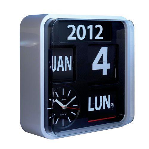 Horloge calendrier Flip Flap Orium