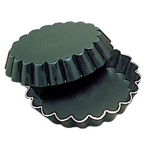Tartelette ronde cannelée Exal®