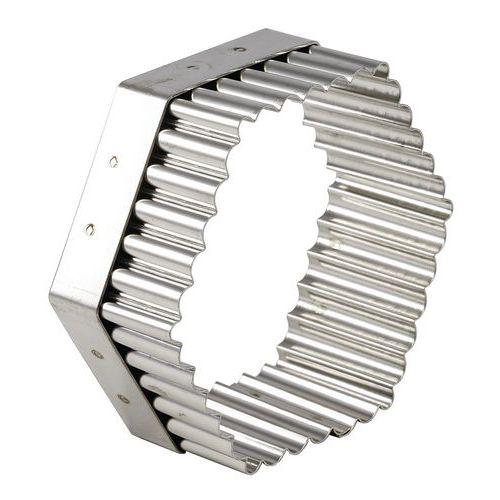 Découpoir héxagonal cannelé