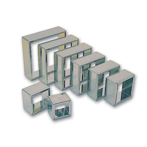 Découpoirs carrés unis (Jeu de 8)