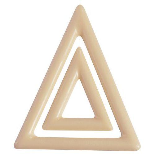 Moule décors triangles
