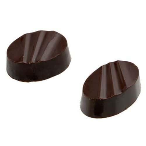 Bonbons ovales striés