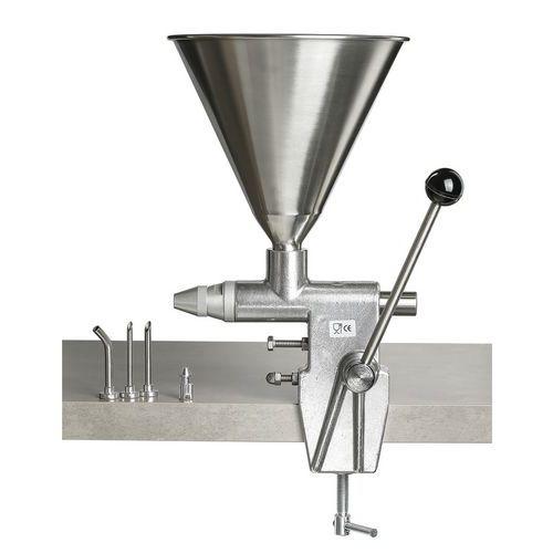 Machine à injecter la crème, petit modèle
