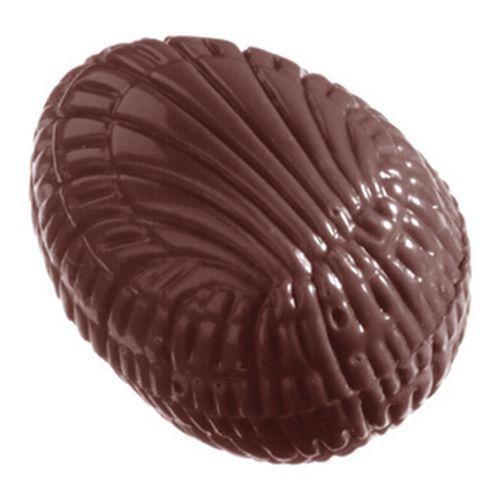Moule forme Bonbons demi-œufs striés