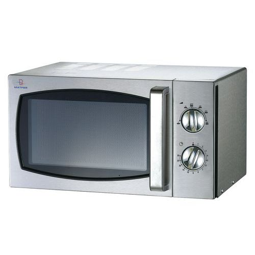 Four micro-ondes 23 litres inox