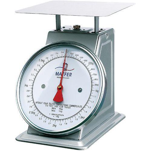 Balance mécanique de laboratoire