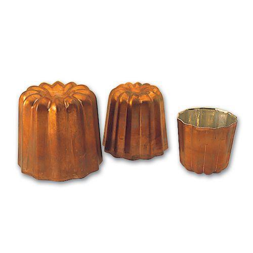 Cannelé cuivre