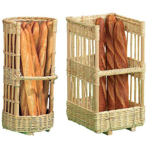Claie à pain osier fabrication francaise