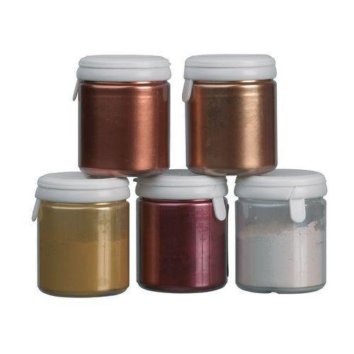 Colorant poudre brillant