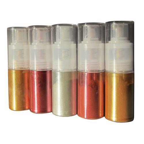 Colorant poudre en atomiseur