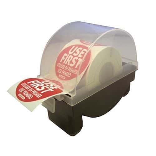 Distributeur d'etiquettes