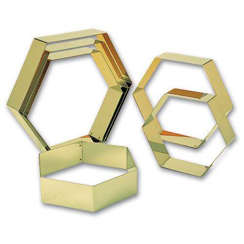 Forme à entremets Hexagone