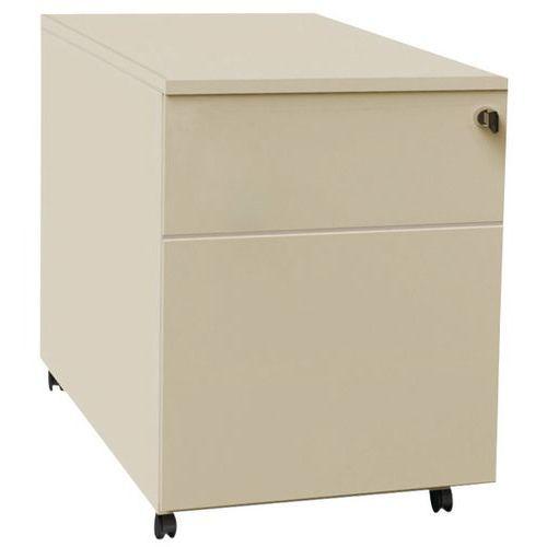 Caisson mobile à tiroirs Confort 2 - Beige