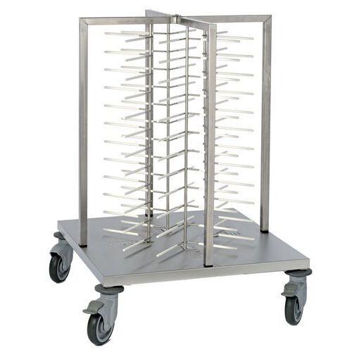 Système polyvalent de stockage d'assiettes_Matfer