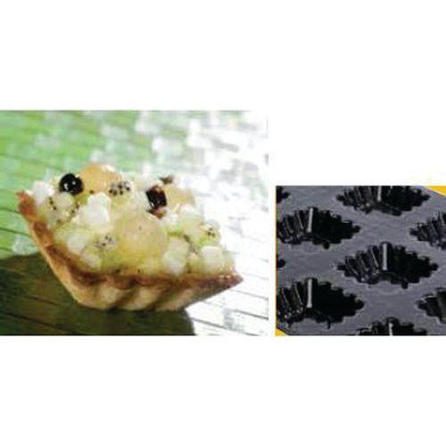 Tartelettes carrées cannelées
