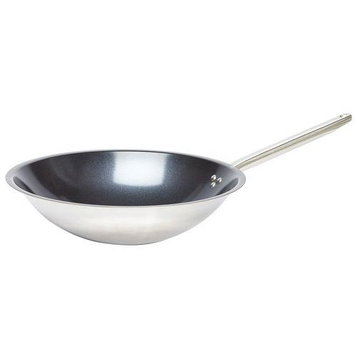 Wok inox tradition ceramic