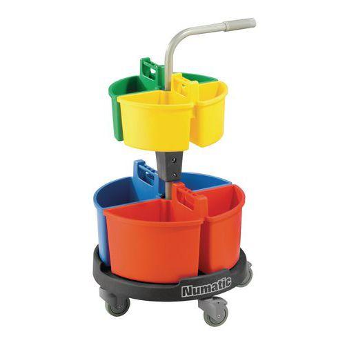 Chariot de lavage Carrousel Numatic - NCG 4