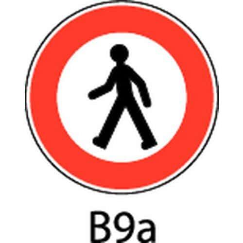 Panneau de signalisation b9a acc s interdit aux - Panneau signalisation interdiction ...
