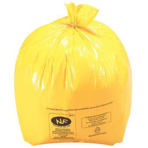 Sac-poubelle - Déchet léger - Sanitaire - 10 à 50 L