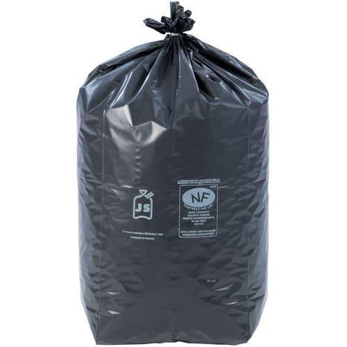Sac-poubelle noir - Déchet lourd - 60 à 130 L