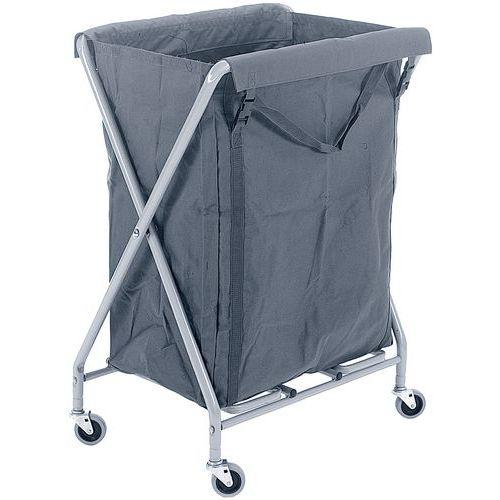 chariot pour sacs linge servo x. Black Bedroom Furniture Sets. Home Design Ideas
