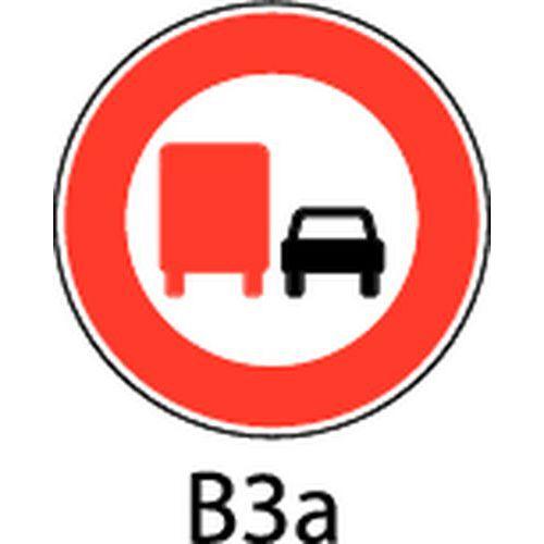 panneau de signalisation b3a interdiction aux poids lourds d. Black Bedroom Furniture Sets. Home Design Ideas