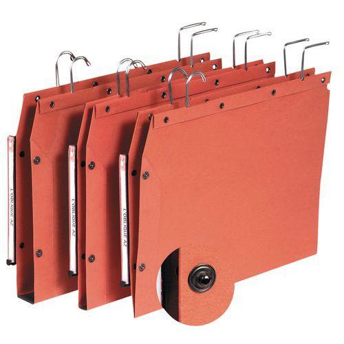 Dossier suspendu kraft à boutons-pression tub ultimate - Pour armoire