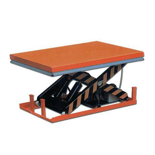 Table élévatrice fixe électrique - Capacité 1000kg