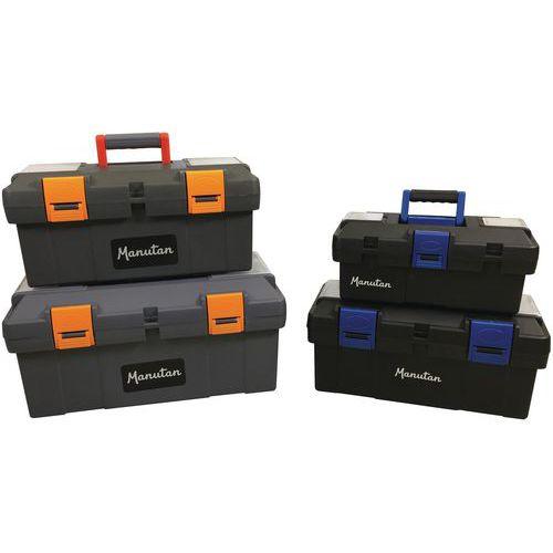 Boîte à outils plastique - Manutan