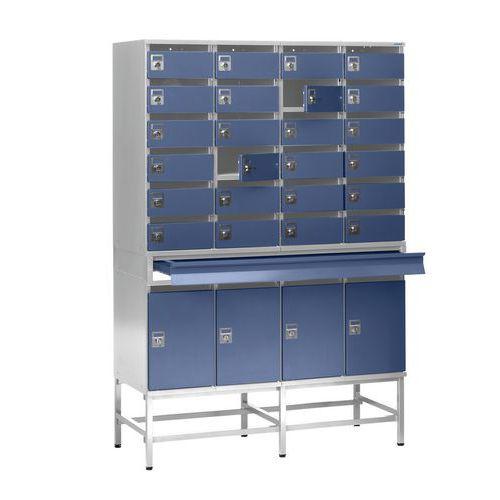 Piétement pour armoire à courrier - Type 4266/4290/4299