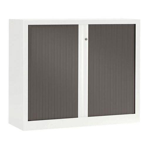 Armoire métal Luxe largeur 100 cm à rideaux