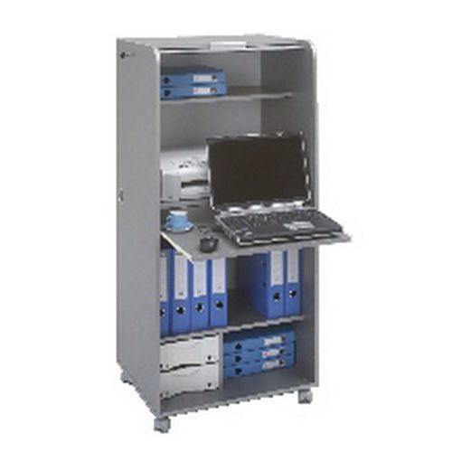 Armoire informatique mobile aluminium Orga