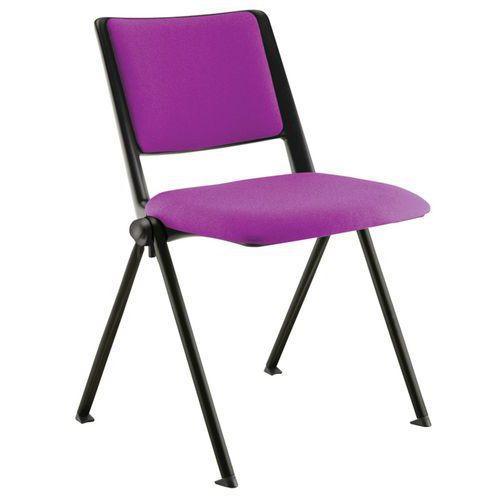 Chaise piètement noir Match
