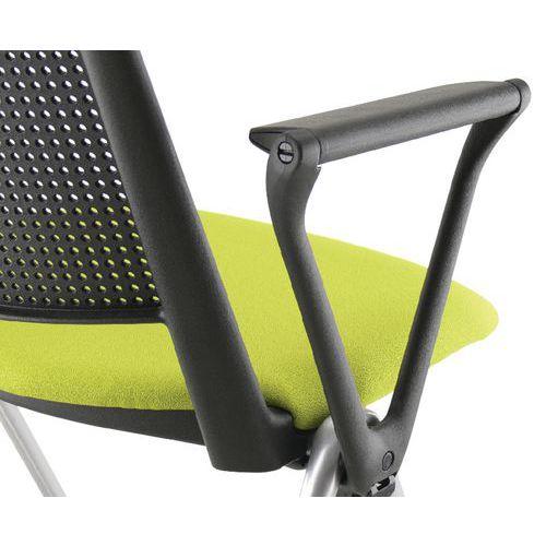 Accoudoirs noir pour chaise Match