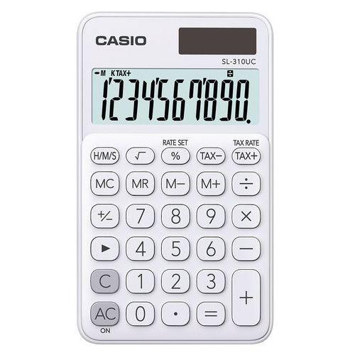 Calculatrice de poche - SL-310UC - 10 chiffres - Casio