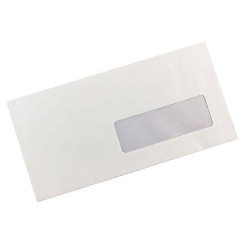 Enveloppe blanche à fenêtre - Autocollante